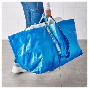 (1) IKEA-FRAKTA-BAG-Shopping-Grocery-Laundry-Store